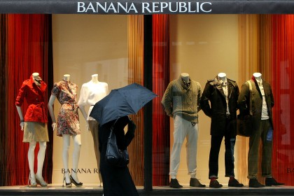 Gap to close all Banana Republic stores in Britain