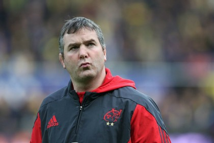 Rugby mourns death of Munster coach Anthony Foley