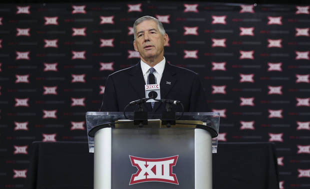 Big 12 commissioner: Adding title game not about money