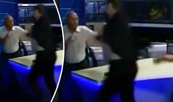 WATCH: Outrageous footage shows Georgian politicians have FISTFIGHT on live air