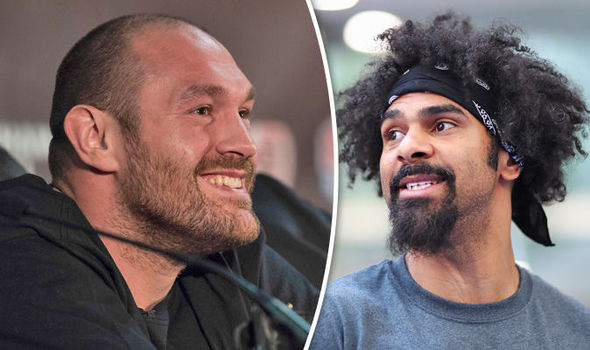 Tyson Fury makes bizarre claim: David Haye is gay and out of the closet