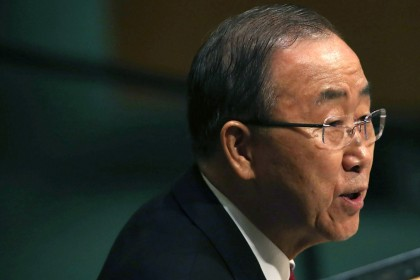Ban Ki-moon condemns Saudi air strike on Yemeni funeral