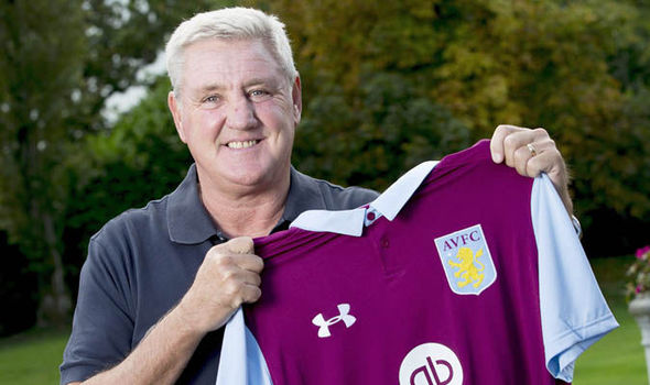 Picture Special: All smiles as Aston Villa unveil new manager Steve Bruce