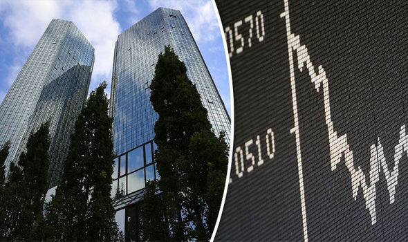 Shares slump as hedge funds pull business from Deutsche Bank
