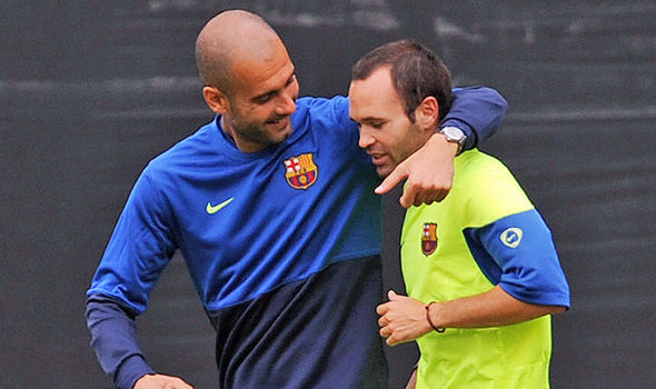 Barcelona star backs Manchester City to win Champions League under Pep Guardiola