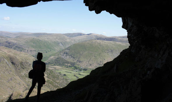 Man dies after falling nearly 500ft during Lake District walk