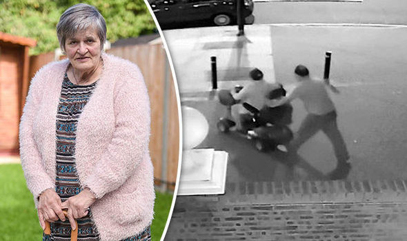 OAP thief makes low-speed getaway on granny's mobility scooter