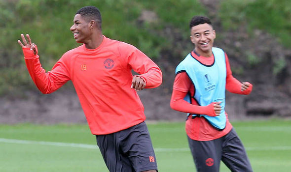 Southgate names Man United duo Rashford and Lingard in first England squad