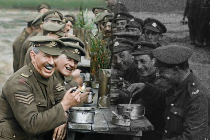 First World War in colour: Peter Jackson brings old footage to life