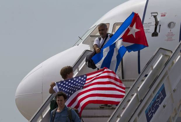 The Latest: Trump says he'll hold Cuban gov't 'accountable'