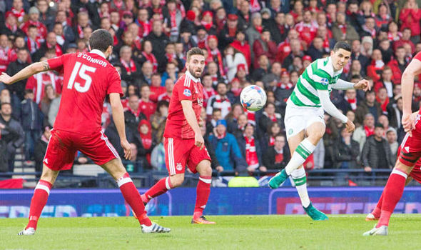 Aberdeen 0 - Celtic 3: Hoops win Scottish League Cup final in style