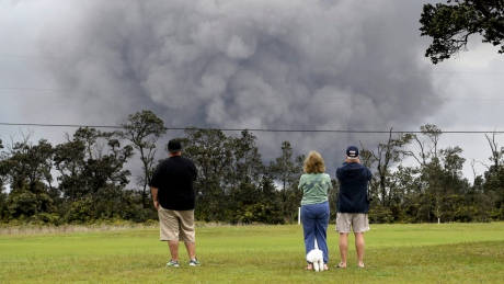 Life goes on as ash falls near Hawaii's erupting Kilauea volcano