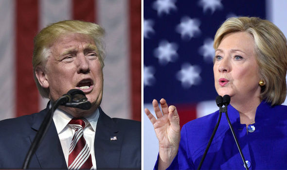 Donald Trump and Hlllary Clinton CLOSER than ever before in polls ahead of first TV debate