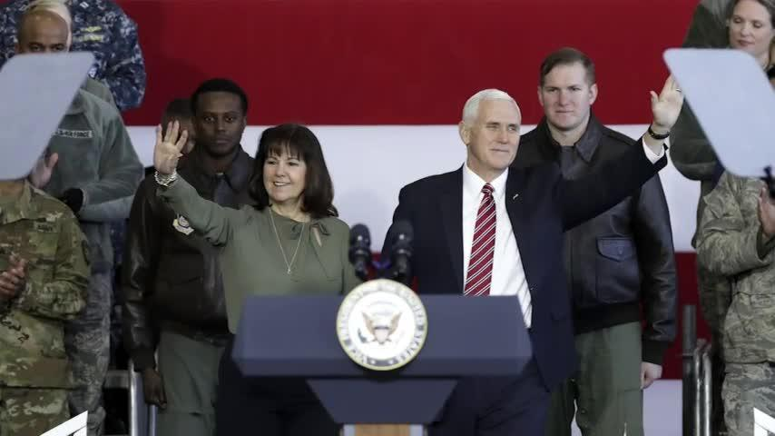 Karen Pence wants to 'elevate' military spouses