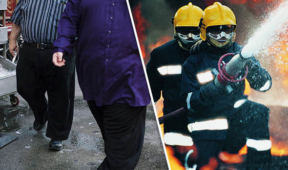 More than 900 obese people need rescuing by the fire brigade