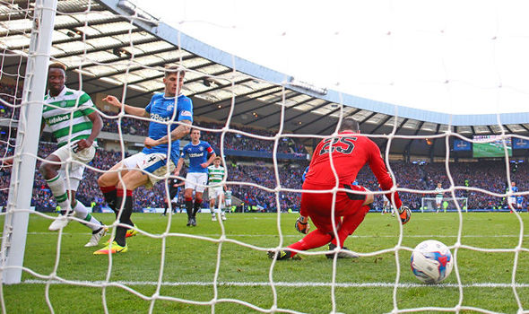 Rangers 0 - Celtic 1: Dembele stuns Gers with last-gasp winner in dramatic semi-final