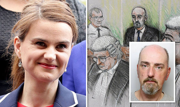 BREAKING: Thomas Mair GUILTY of MP Jo Cox murder in killing which shocked the nation