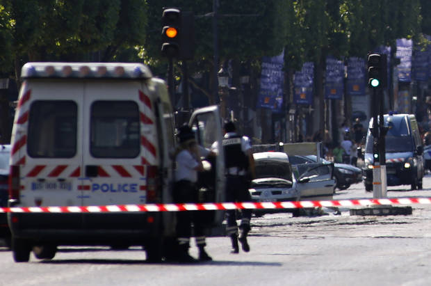 The Latest: French minister: Attack threat still very high