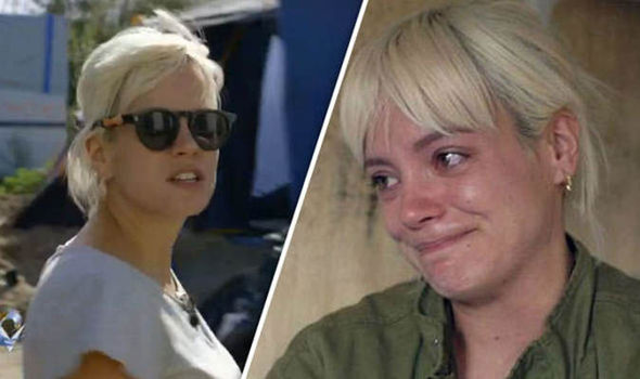 'Find an immigrant you stupid tart' Lily Allen REFUSED ride in black cab after Calais rant