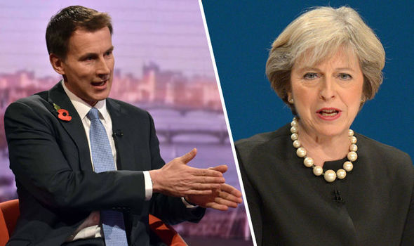 Theresa May could call General Election if MPs scupper Brexit plans, Jeremy Hunt hints