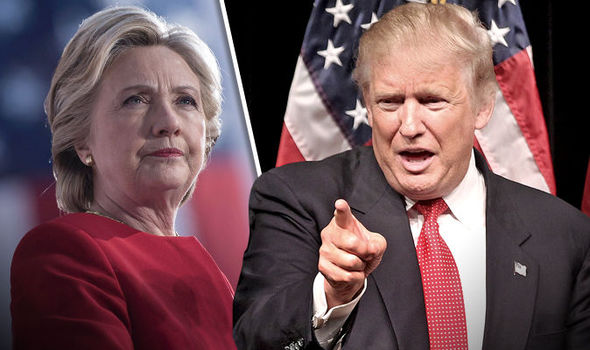 US election latest polls: Clinton has average three point lead as Trump threatens lawsuit