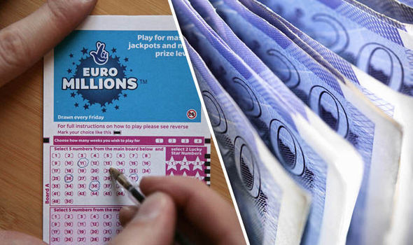 Is it YOU? Single British ticket holder scoops £34m EuroMillions lottery jackpot