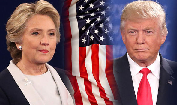 TRUMP V CLINTON LIVE: Final debate as hopefuls go head-to-head in Las Vegas fight night