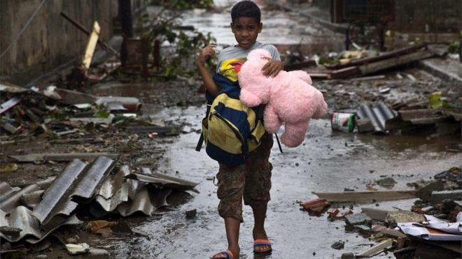 Jamaica offers to help US with Hurricane Matthew recovery