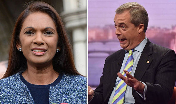 Anti-Brexit campaigner Gina Miller launches astonishing attack on Nigel Farage