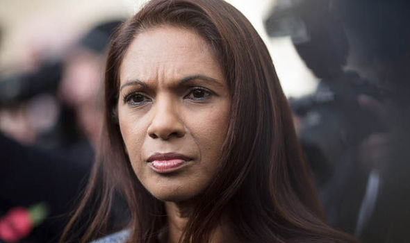 Brexit challenger Gina Miller warned 'its not safe to go outside' following death threats