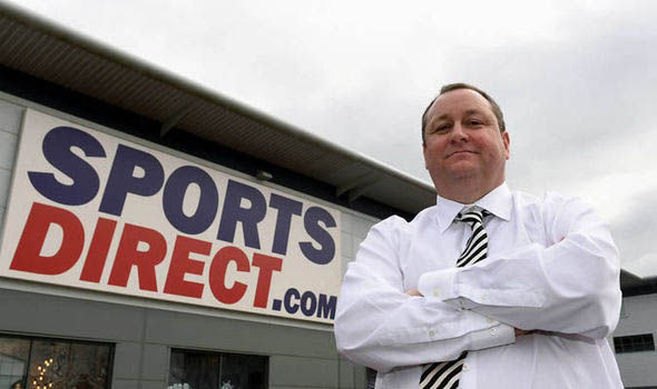 Sports Direct investors cheered as Mike Ashley takes up reins