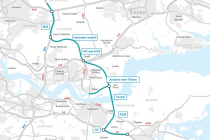 Lower Thames Crossing: everything you need to know