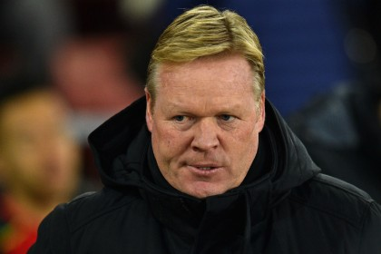 Koeman's Christmas tree leaves him red in the face