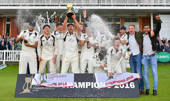 Middlesex crowned County champions after Roland-Jones hat-trick beats Yorkshire