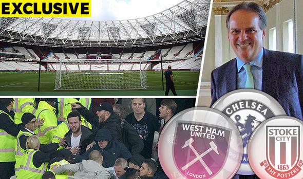 West Ham warned by MP Mark Field to invest in security or face playing behind closed doors