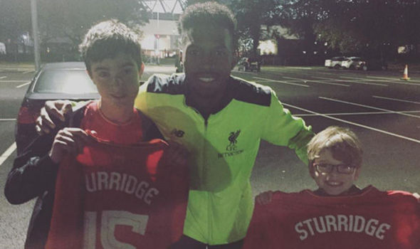 Daniel Sturridge met two Liverpool fans in the car park after Tottenham win - and did this