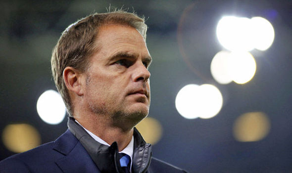 Inter Milan sack manager Frank De Boer ahead of Southampton clash - reports