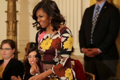 Official sacked after calling Michelle Obama an 'ape in heels'