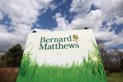Bernard Matthews saved by 'Chicken King'