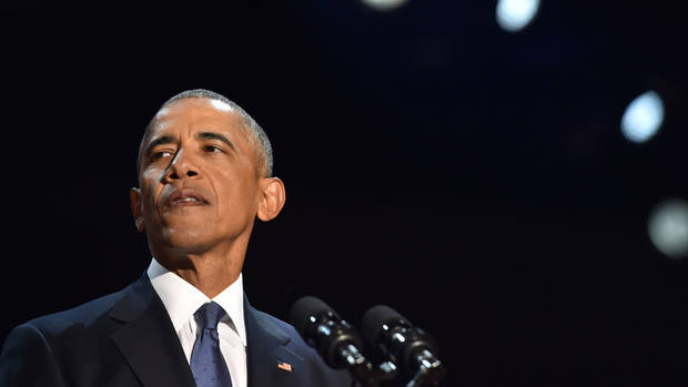 Obama To Return To Chicago For First Post-White House Speech