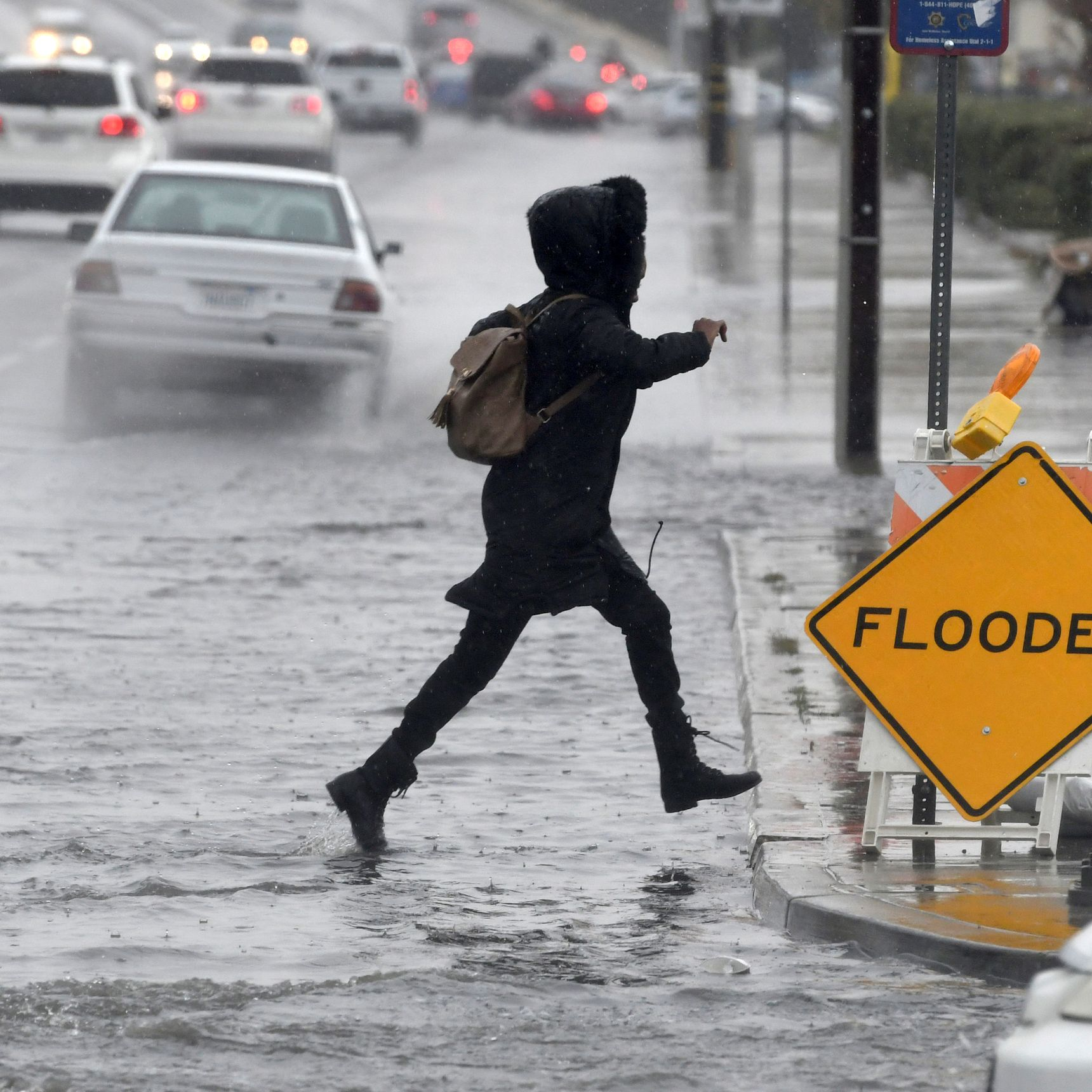 Wintry storm brings rain, snow, havoc across USA; more bad weather on the way