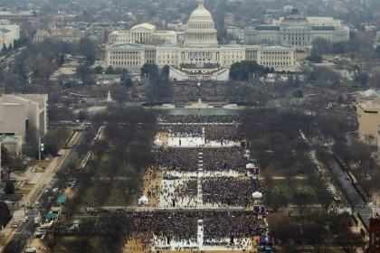 Trump inauguration photos edited to make crowd look larger