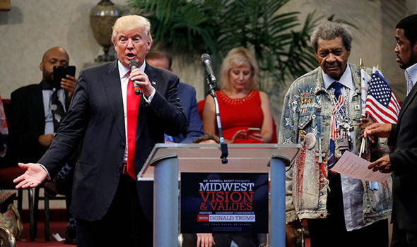Don King says n-word during controversial endorsement of Donald Trump