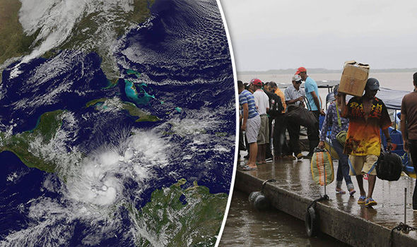Hurricane Otto LIVE: Costa Rica in state of emergency as DEADLY 20 INCHES of rain expected