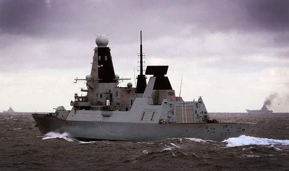 Russian warships ENTER Channel: Putin's fleet pass just 10 MILES from UK monitored by Navy