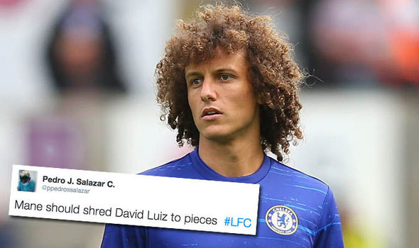 Strikers will have a field day! Liverpool fans excited for Mane to 'tear David Luiz apart'