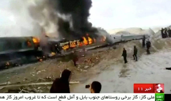 Rail horror: 31 killed as two trains crash in northern Iran