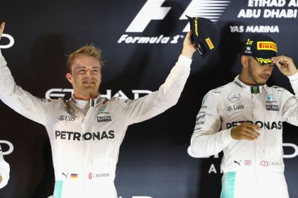Lewis Hamilton accused of 'anarchy' as Nico Rosberg wins F1 title