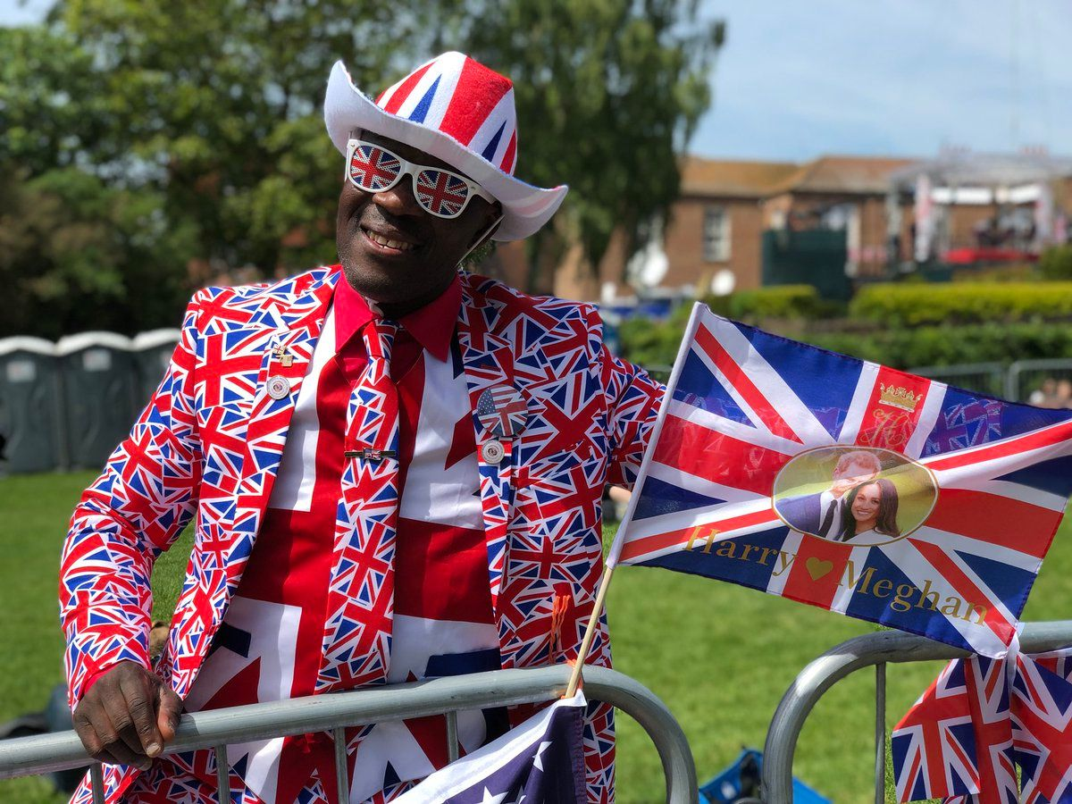 Royal wedding-watching is an extreme sport — for some