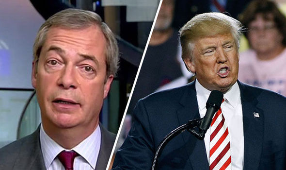 Nigel Farage: I've told Donald Trump how to deal with presidential rival Hillary Clinton